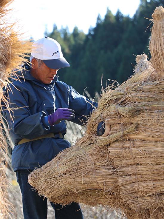ジャンボ干支を作る人