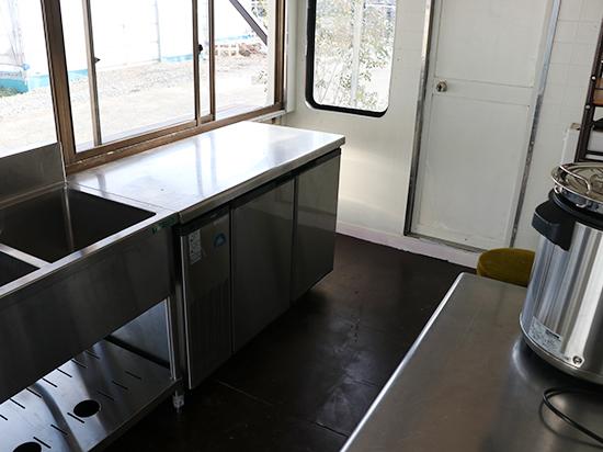 キッチンユノートルの厨房設備