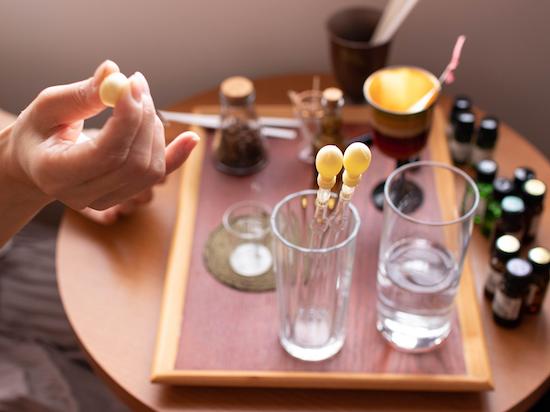 オリジナルのアロマ香水づくり