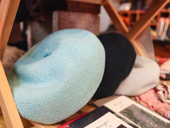 人気のベレー帽