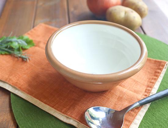 北欧のスープ皿