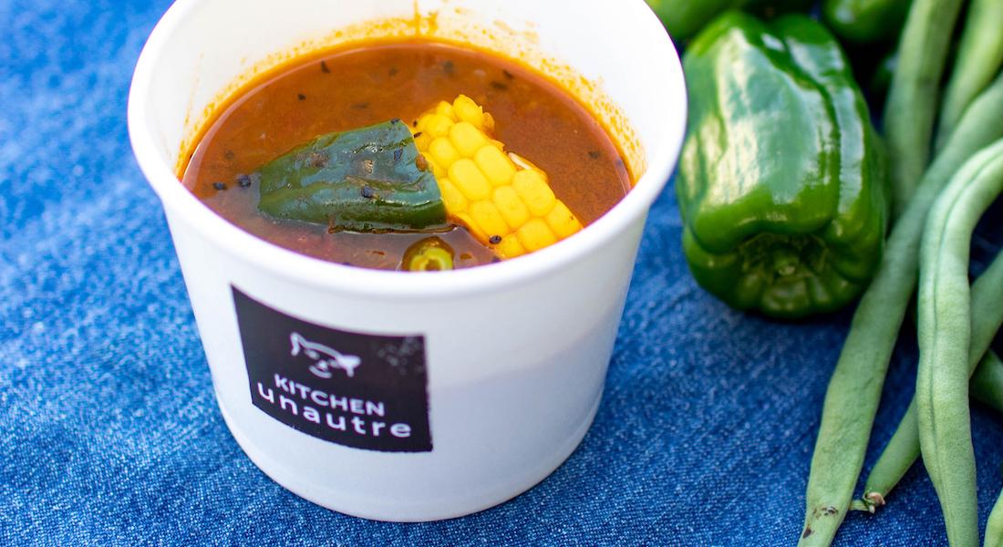 キッチンユノートルのカレースープ
