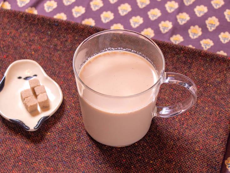 ほうじ茶ラテ島田市の田舎カフェの新メニュー