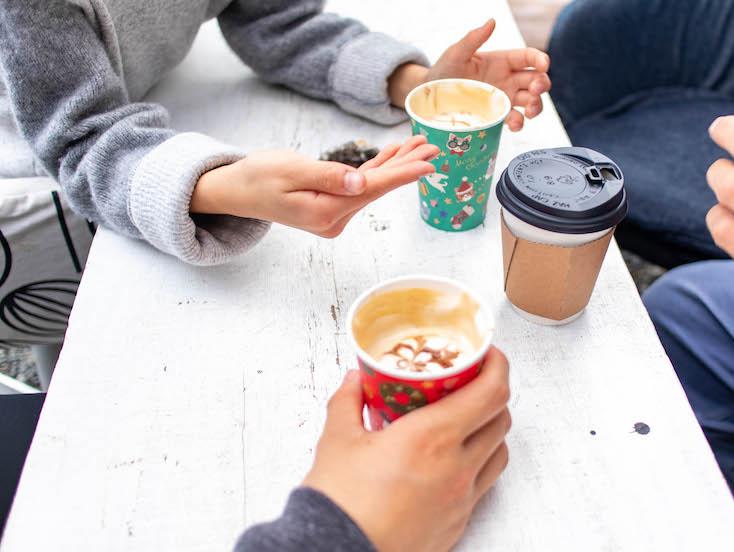 カフェラテ・チョコモカ人気でした!スペシャリティコーヒーの日。