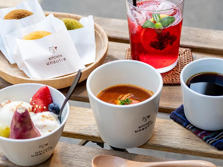 島田市のおしゃれなカフェ「キッチンユノートル」メニュー